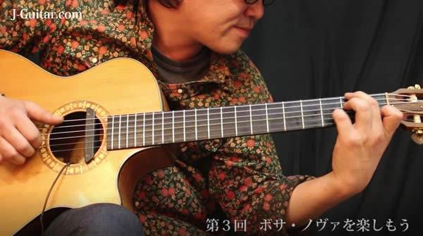 【癒しの音色 ナイロン弦ギターはいかが? 動画編】第3回