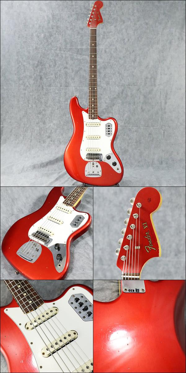 Fender Custom Shop / 30th Anniversary 2017 Bass VI Journeyman Relic Candy Apple Red (エレキ)|大阪市北区